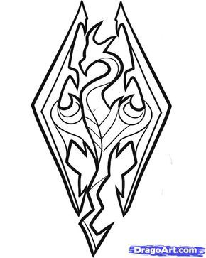 Skyrim cliparts vector free Collection of Skyrim clipart | Free download best Skyrim ... vector free