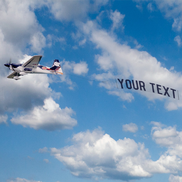 Skywriting plane clipart clip art free library Plane Banner - PhotoFunia: Free photo effects and online ... clip art free library