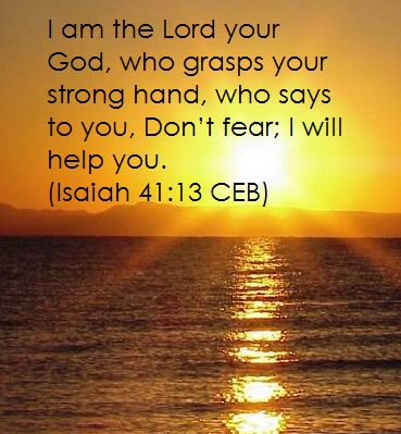 Slams bible sayings free clipart about morning sunrise image library library Isaiah 41:13 For I hold you by your right hand— I, the Lord ... image library library