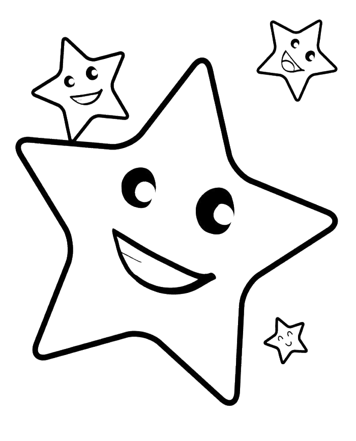 Star student clipart black and white black and white stock 28+ Collection of Smiling Star Clipart Black And White | High ... black and white stock