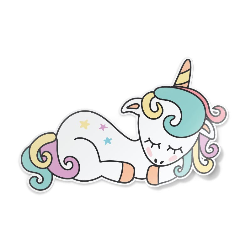 Slapende clipart svg freeuse Sticker Sleeping unicorn svg freeuse