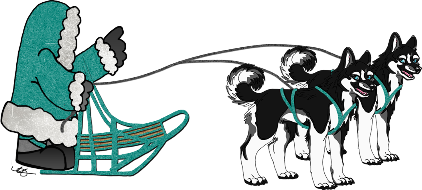 Sled dog clipart graphic transparent stock The 3am Teacher: Iditarod Themed Unit & Some FREEBIES!!! graphic transparent stock