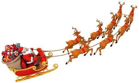 Sled santa clipart picture royalty free download Santa Sleigh Clipart 2 Portal Satisfying Fantastic 15 | www ... picture royalty free download