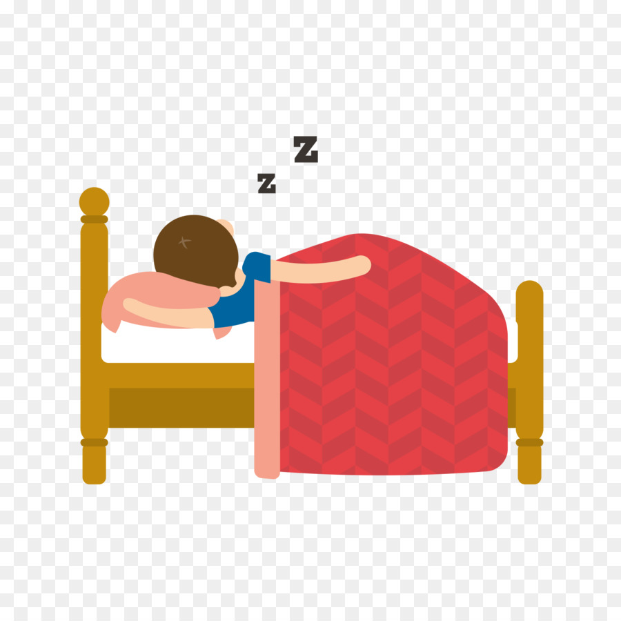 Library of sleep in bed vector black and white png files ...