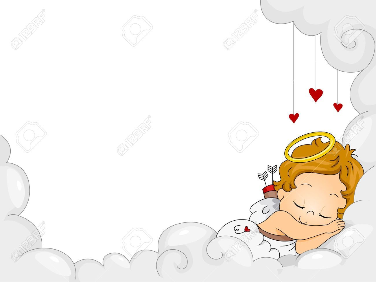 Sleeping baby angel clipart clip art black and white stock Sleeping baby angel clipart 8 » Clipart Portal clip art black and white stock