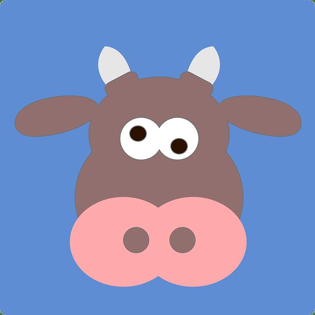 Sleeping brown cow clipart image freeuse Jokes About Cows | Fun Kids Jokes image freeuse