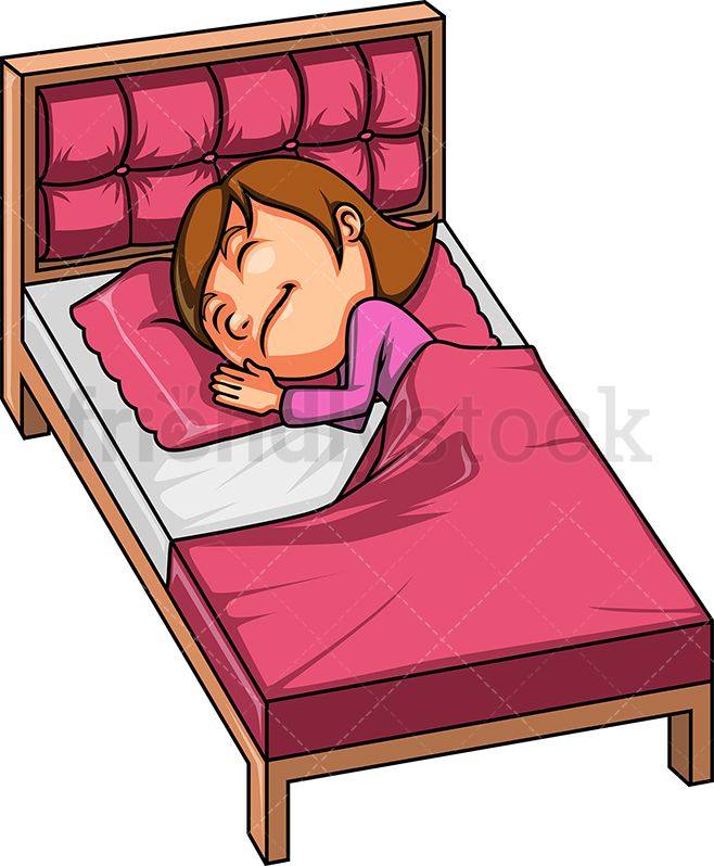 Sleeping children on a couch free clipart vector freeuse library Little Girl Sleeping | Kids Clip Art | Girl sleeping, Kids ... vector freeuse library
