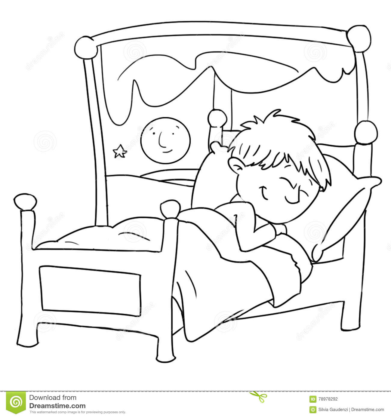 Sleeping clipart black and white clip art library download Child sleeping clipart black and white » Clipart Station clip art library download