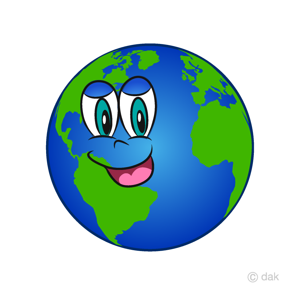 Sleeping earth clipart image free download Earth Cartoon Character Free Picture|Illustoon image free download