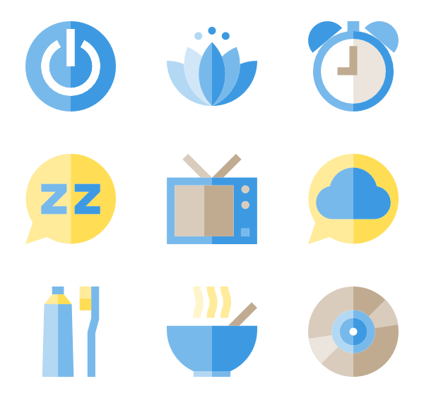 Sleeping in book clipart png library library Sleep Icons - 1,863 free vector icons png library library