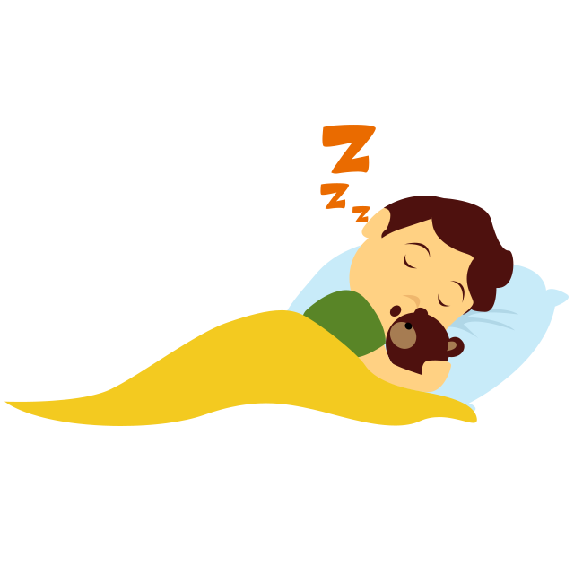 Sleeping in school clipart svg transparent library A 7-day active lifestyle plan for your child svg transparent library