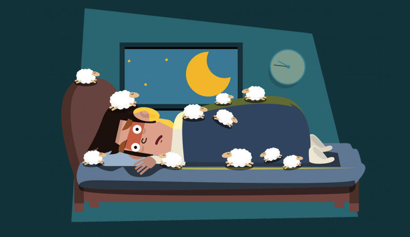 Sleeping in the middle of the night clipart graphic free library Why Insomnia Happens and What You Can Do to Get Better Sleep graphic free library