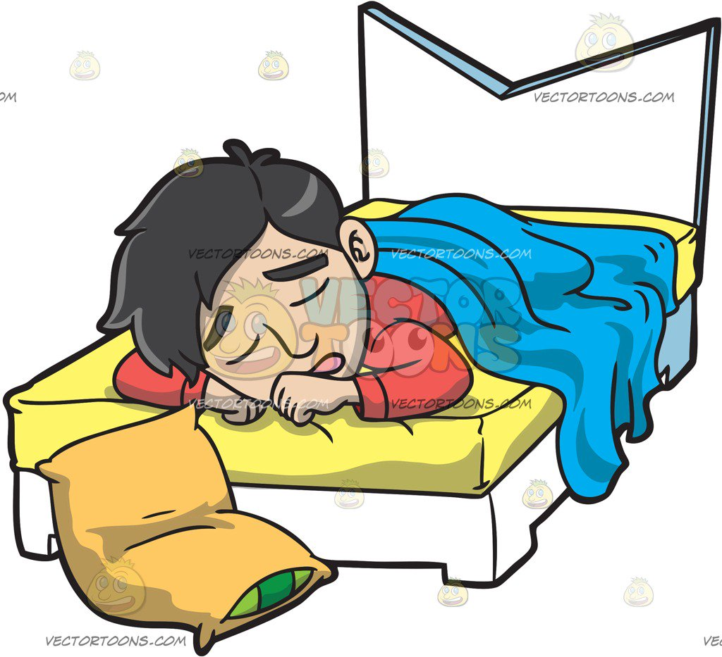 Sleeping man clipart clip library library Man sleeping in bed clipart » Clipart Station clip library library