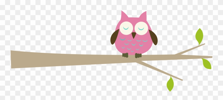 Sleeping owl clipart free clipart free stock Pink Owl On Branch Images & Pictures - Owl On Tree Clipart ... clipart free stock