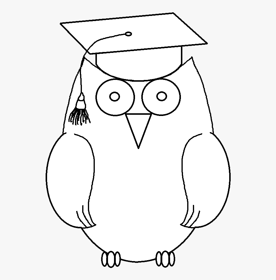 Library of sleeping owl clipart black and white download ...