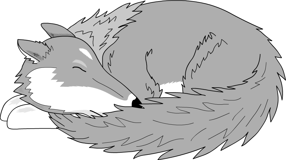 Sleeping sun clipart clipart royalty free library Sleeping Wolf by Versilaryan on DeviantArt clipart royalty free library