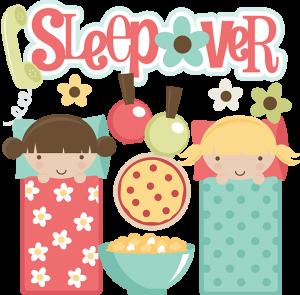 Sleepover clipart graphic Sleepover SVG files for scrapbooking sleepover clipart cute ... graphic