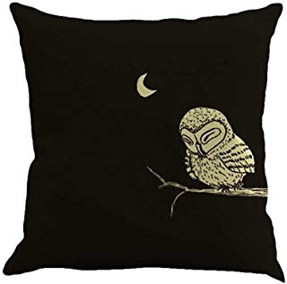 Sleepy owl and crescent moon clipart picture royalty free Amazon.com: owl moon - Baby Bedding / Bedding: Baby picture royalty free
