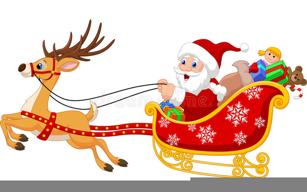 Slegh clipart jpg download Christmas Clipart Sleigh Ride Free Images At Clker Com ... jpg download