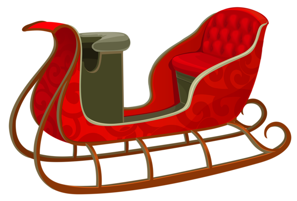Sleigh pictures clipart clip library stock Santa sleigh PNG images free download clip library stock