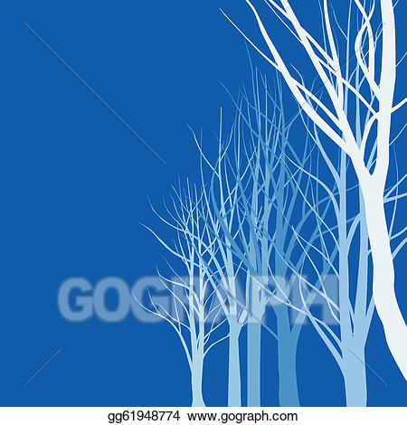 Slender tree clipart clip art library library Vector Art - Abstract trees. Clipart Drawing gg61948774 ... clip art library library
