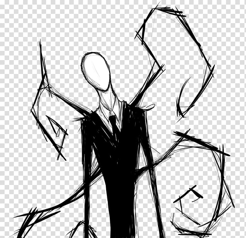 Slender tree clipart png free library Slender: The Eight Pages Slenderman Drawing Fan art, Slender ... png free library