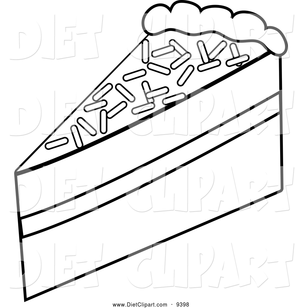 Slice of cake black and white clipart banner library Slice Of Cake Clipart Black And White | Clipart Panda - Free ... banner library