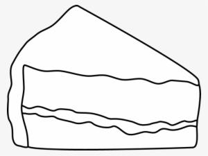 Slice of cake black and white clipart clip art transparent library Cake Slice PNG & Download Transparent Cake Slice PNG Images ... clip art transparent library