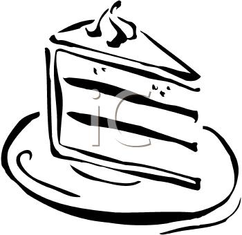 Slice of cake clip art clip freeuse download Slice Of Cake Clipart Black And White   Clipart Panda - Free ... clip freeuse download
