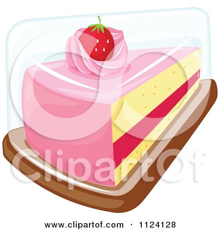 Slice of cake clipart