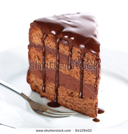 Slice of chocolate cake clipart clipart download Chocolate Cake Stock Images, Royalty-Free Images & Vectors ... clipart download