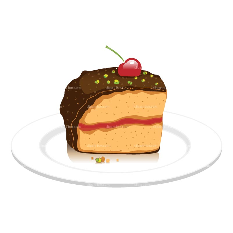 Slice of chocolate cake clipart graphic free download Slice of chocolate cake clipart - ClipartFest graphic free download