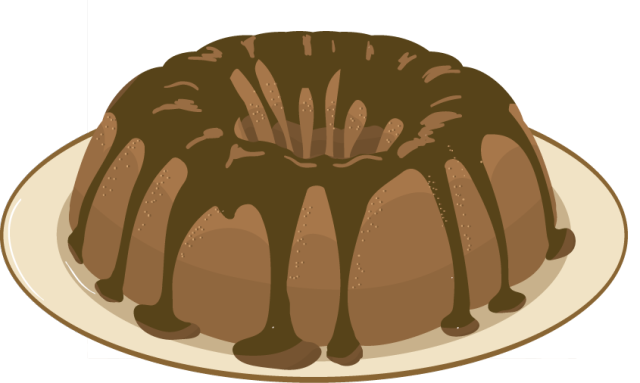 Slice of chocolate cake clipart vector transparent stock Chocolate Cake Free Clipart - Clipart Kid vector transparent stock
