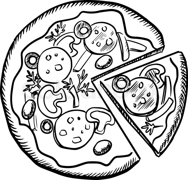 Library of sliced bell pepper for pizza graphic library ...