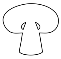 Slicedvmushroom clipart image Sliced Mushroom Clipart (95+ images in Collection) Page 2 image