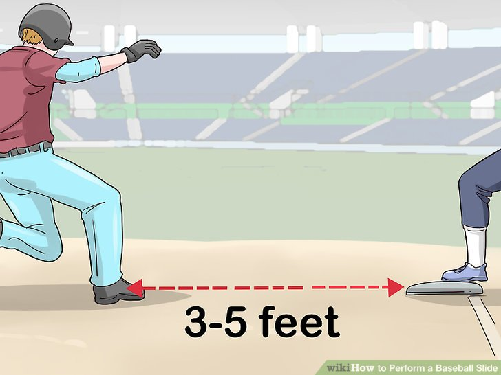 Sliding into home plate head first clipart graphic library library How to Perform a Baseball Slide (with Pictures) - wikiHow graphic library library