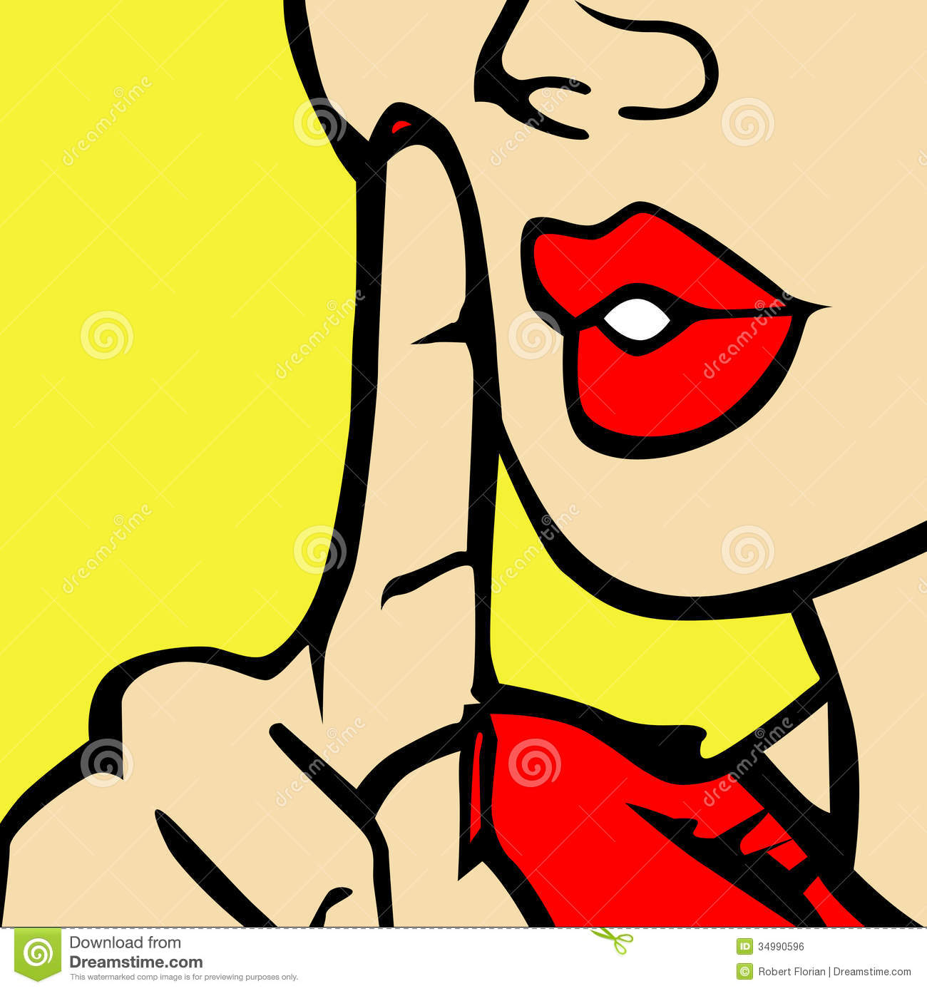 Shhh lips clipart image black and white download Silence Clipart | Clipart Panda - Free Clipart Images image black and white download