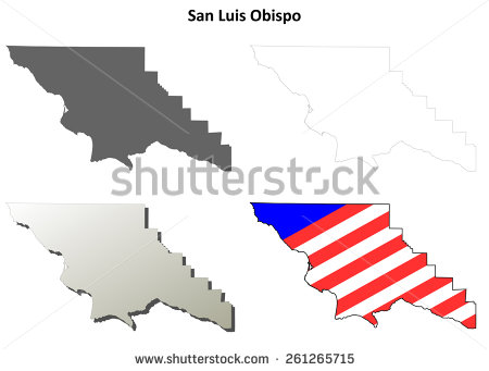 Slo california map clipart image library download Slo california map clipart - ClipartFest image library download