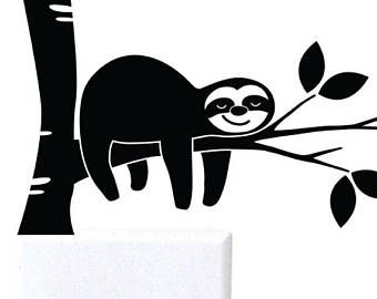 Sloth on tree clipart black and white clip library stock This item is unavailable | 1302: Pictogram | Clipart black ... clip library stock