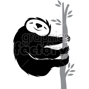 Sloth on tree clipart black and white clip art transparent download sloth climbing on a tree clipart. Royalty-free GIF, JPG, PNG ... clip art transparent download