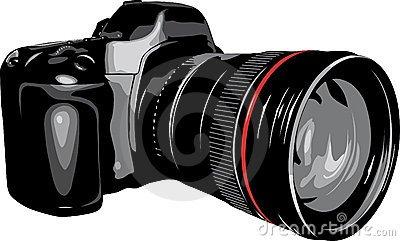 Slr camera clipart clip black and white Slr camera clipart » Clipart Portal clip black and white