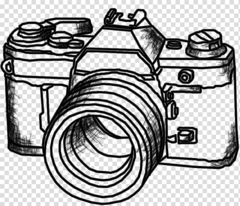 Slr camera clipart jpg download Graphic film Drawing Digital SLR Camera, drawing transparent ... jpg download
