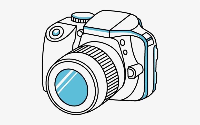 Slr camera clipart clip free library Digital Slr Camera - Dslr Camera Clipart Png PNG Image ... clip free library