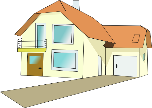 Small 1 story house clipart jpg royalty free download Small 1 story house clipart - ClipartNinja jpg royalty free download