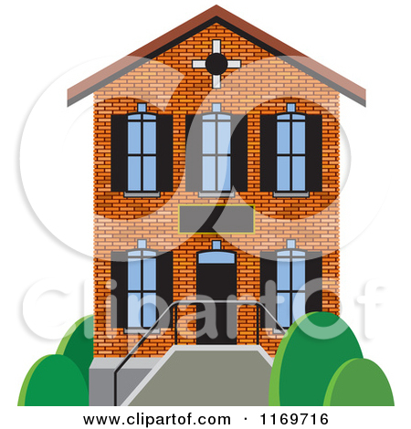 Small 1 story house clipart clip art freeuse stock Royalty-Free (RF) Two Story House Clipart, Illustrations, Vector ... clip art freeuse stock