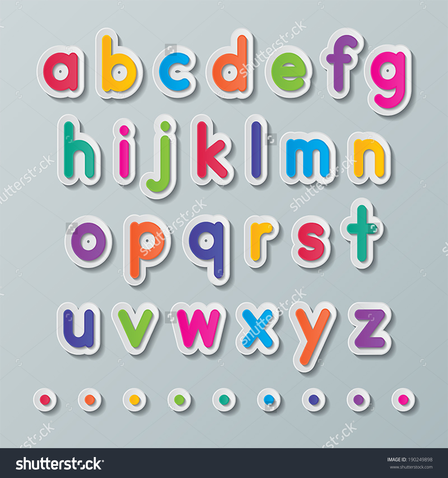 Small alphabet letter clipart banner royalty free library Colorful Paper Small Alphabet Letters Z Stock Vector 190249898 ... banner royalty free library