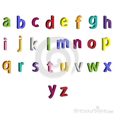 Small alphabet letter clipart jpg freeuse Paper Small Alphabet Letters Stock Vector - Image: 52041687 jpg freeuse
