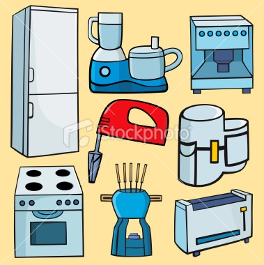 Small appliances clipart image royalty free Kitchen appliance clipart » Clipart Portal image royalty free