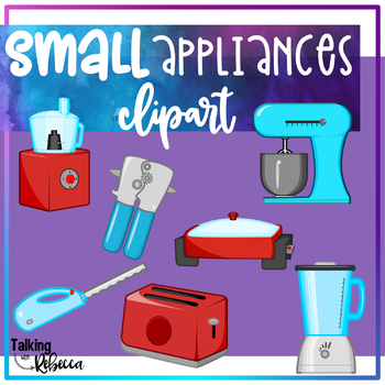 Small appliances clipart jpg black and white Small Household or Kitchen Appliances Clipart jpg black and white