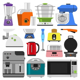 Small appliances clipart graphic free download Appliances Vectors, Photos and PSD files | Free Download graphic free download